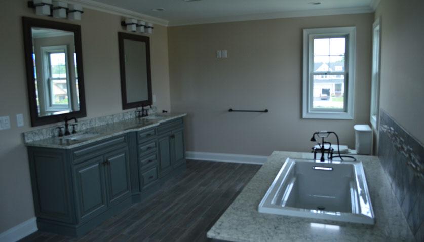 Wood Tile Bathroom Floors
