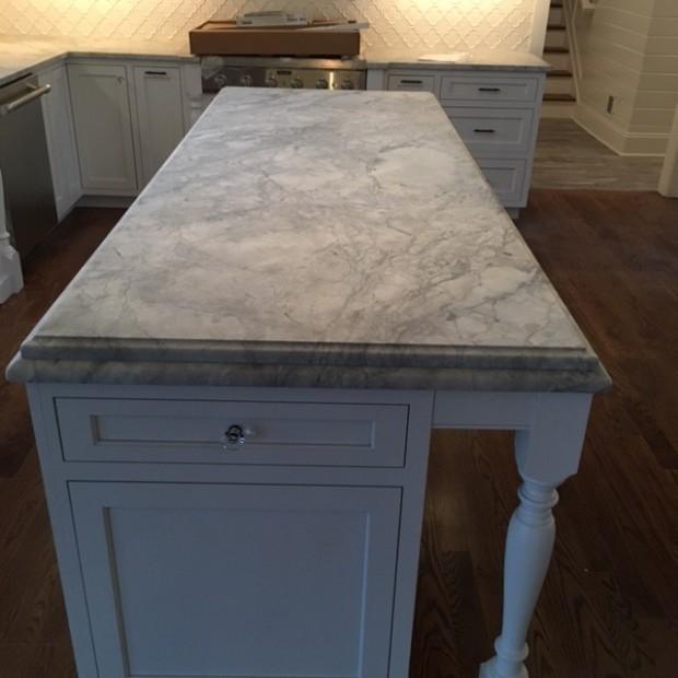 Super White Natural Quartz Countertop