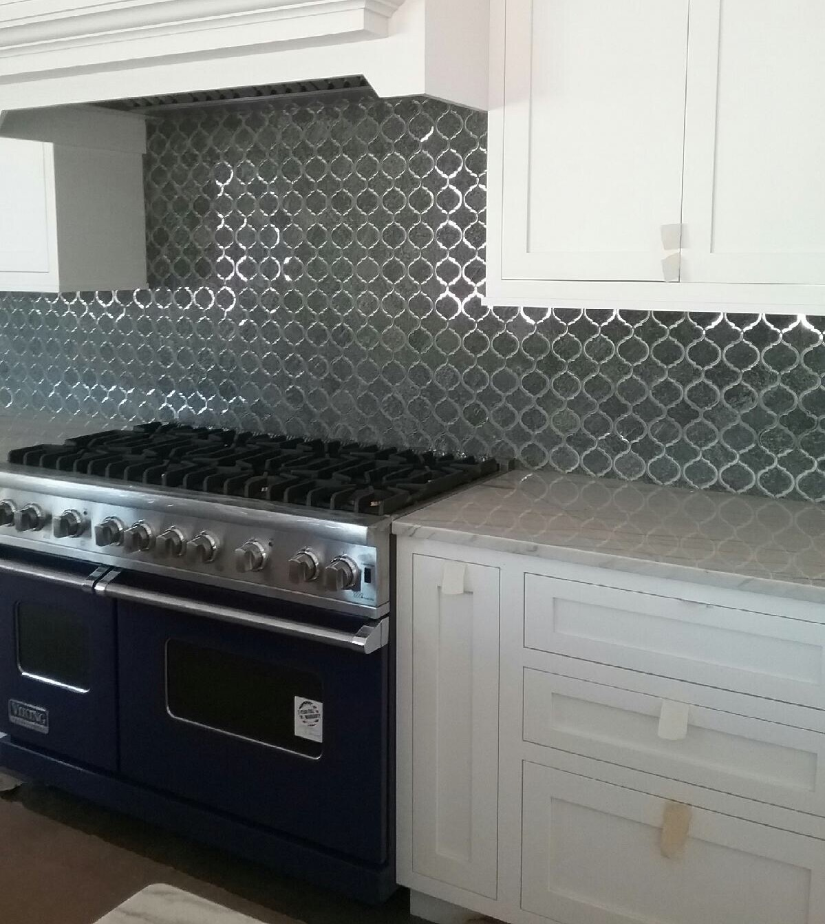 Gorgeous Mosaic Backsplash