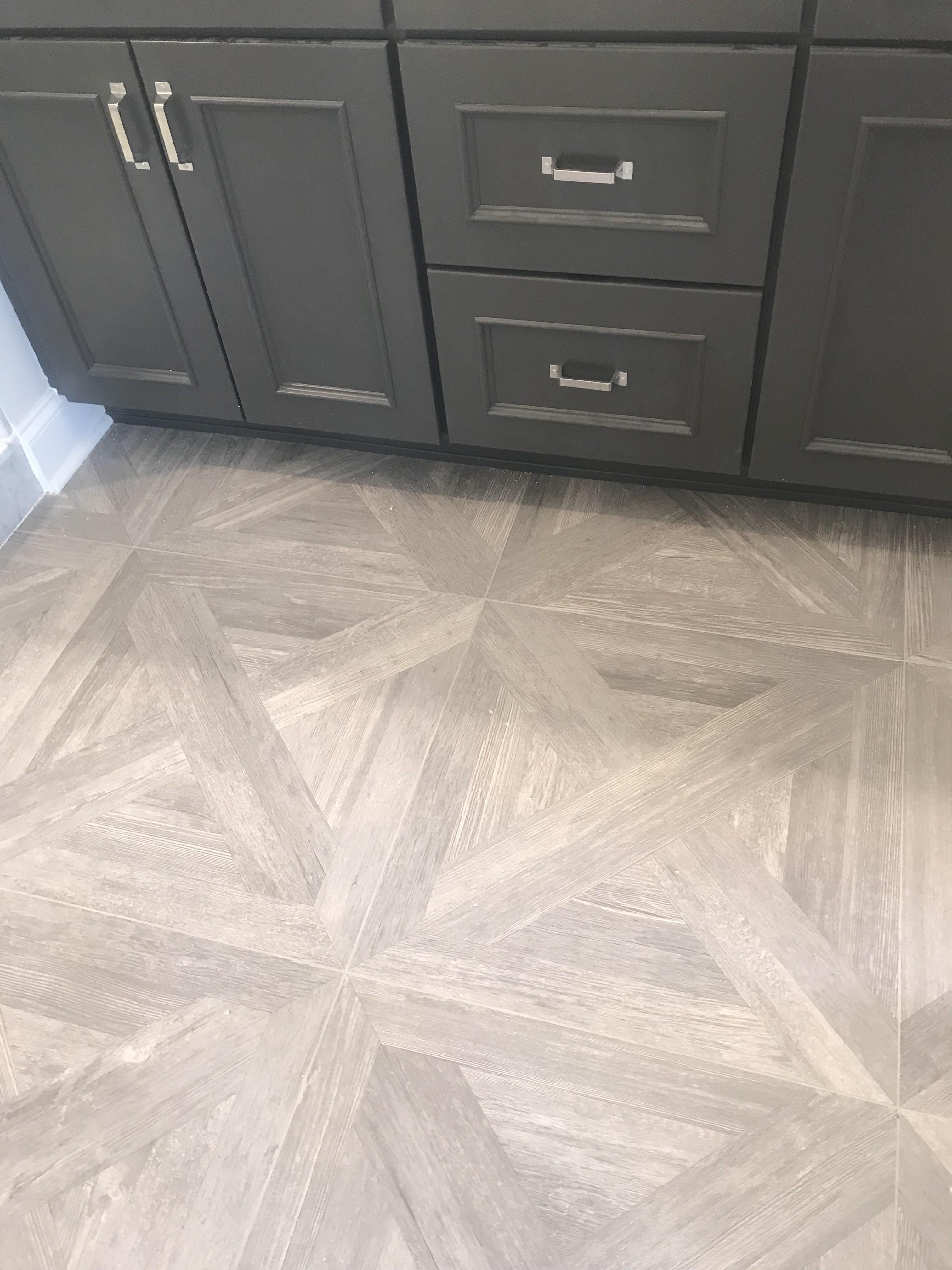 24×24 Porcelian wood tile look