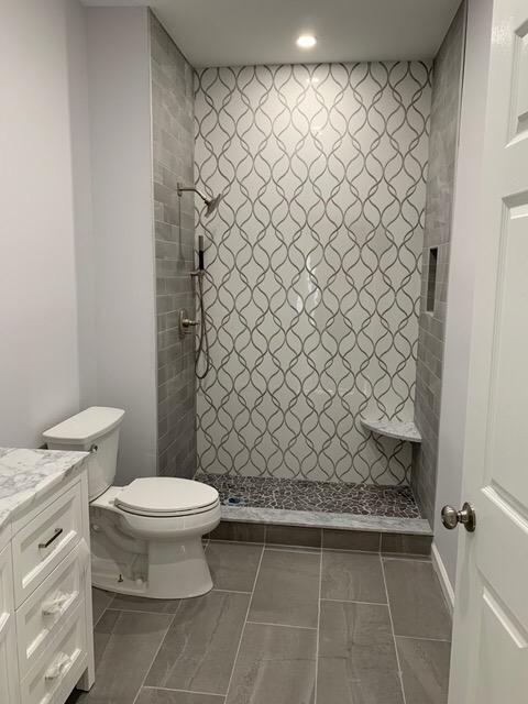 Porcelain Mosaic Back wall