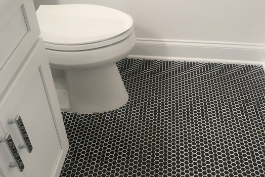 Mini Hexagon floor tile