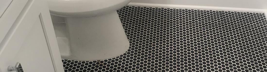 Mini Hexagon floor tile