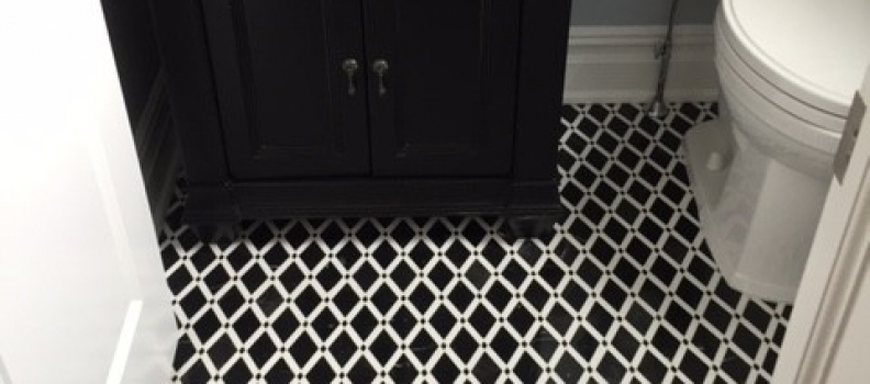 Mosaic Floor!